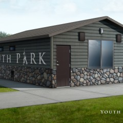 Proposed Forestville Youth Park Building