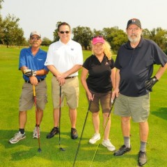 Mike Reilly team golf photo